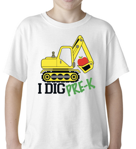Customizable grade Digger shirt