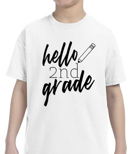 Hello Grade, single color