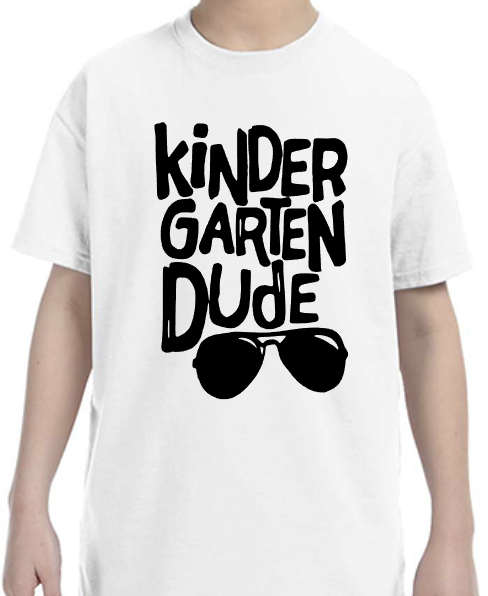 Kindergarten Dude with Sunglasses