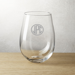 Personalzied Etched Glassware {SET OF 4 PRICING}
