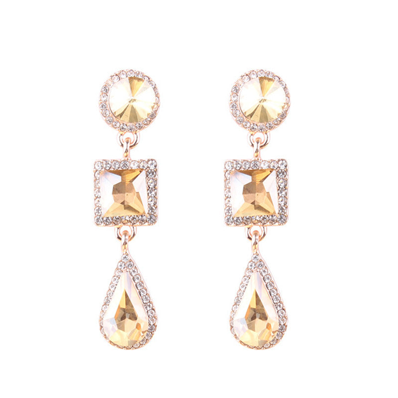 Reign Gold Earrings - Nicholls Jewellery