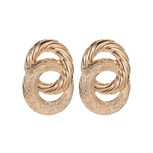 Grecian Hoop Earrings - Nicholls Jewellery