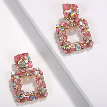 Load image into Gallery viewer, Valencia Pink Earrings - Nicholls Jewellery