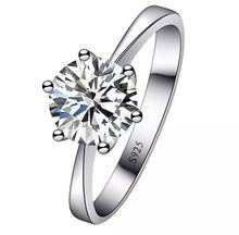 Load image into Gallery viewer, Single Diamond Ring