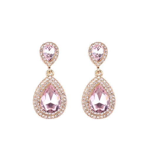 Royal Pink Earrings - Nicholls Jewellery