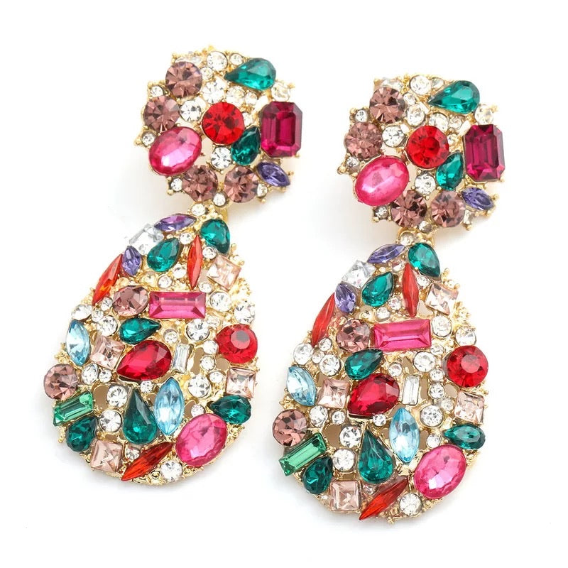 Iris Multi Colour Earrings