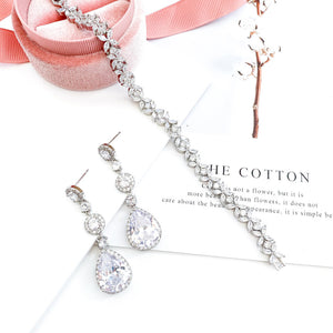 Grace Silver Earrings