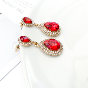 Royal Red Earrings