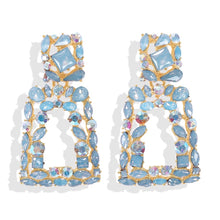 Load image into Gallery viewer, Verona Blue Earrings
