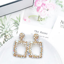 Load image into Gallery viewer, Venice Clear Crystal Earrings - Nicholls Jewellery