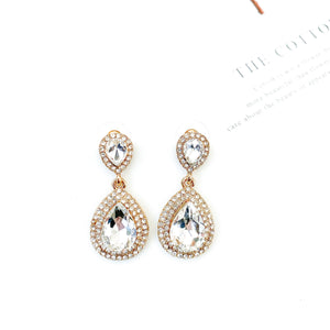Royal Clear Earrings