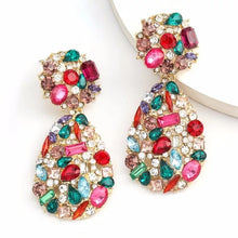 Load image into Gallery viewer, Iris Multi Colour Earrings