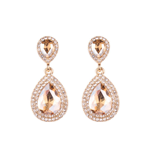 Royal Gold Earrings - Nicholls Jewellery