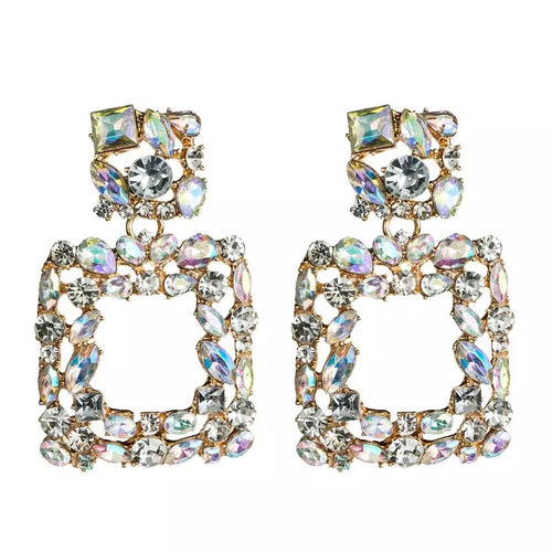 Valencia Crystal Earrings - Nicholls Jewellery