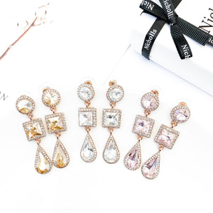 Reign Crystal Earrings