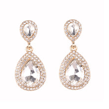 Load image into Gallery viewer, Royal Clear Earrings - Nicholls Jewellery