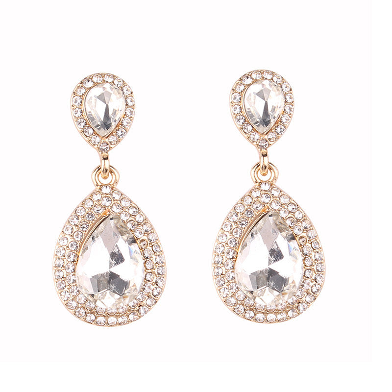 Royal Clear Earrings - Nicholls Jewellery