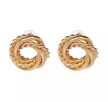 Load image into Gallery viewer, Gaia Gold Earrings