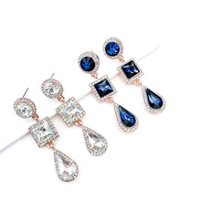 Load image into Gallery viewer, Reign Crystal Earrings