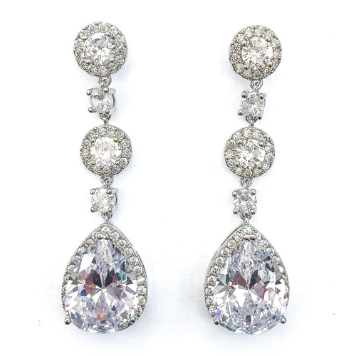 Grace Silver Earrings - Nicholls Jewellery