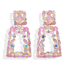 Load image into Gallery viewer, Verona Pink Earrings