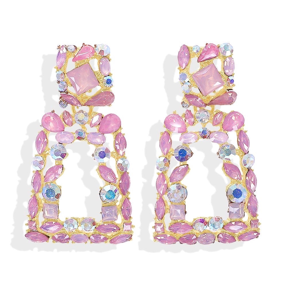 Verona Pink Earrings