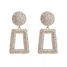 Load image into Gallery viewer, Luxe Crystal Aztec Earrings - Nicholls Jewellery