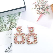 Load image into Gallery viewer, Valencia Blush Earrings - Nicholls Jewellery