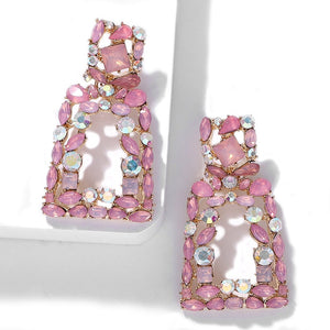 Verona Pink Earrings - Nicholls Jewellery