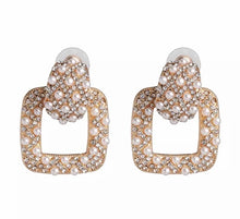 Load image into Gallery viewer, London Square Earrings - Nicholls Jewellery