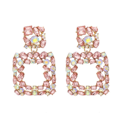 Valencia Blush Earrings - Nicholls Jewellery