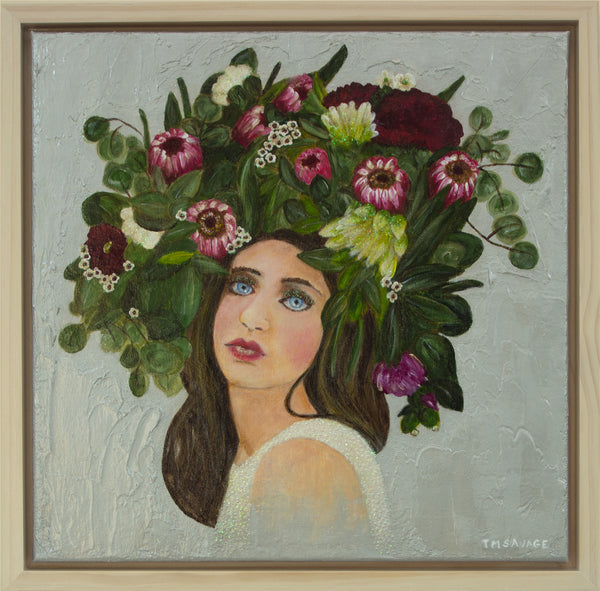 Bethany in flower crown