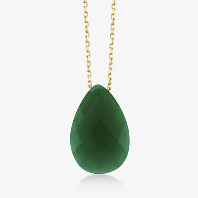 Green Stone Necklace - Gelin Diamond