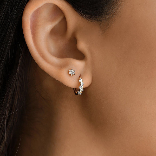 Star Earring - Gelin Diamond