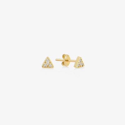 Triangle Earrings - Gelin Diamond