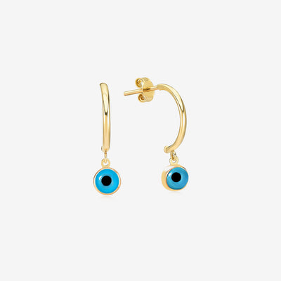 Evil Eye Earrings - Gelin Diamond