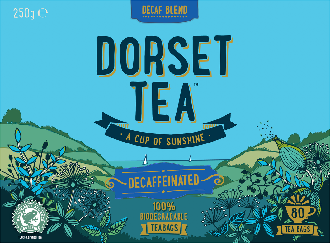 Decaffeinated 80 tea bags