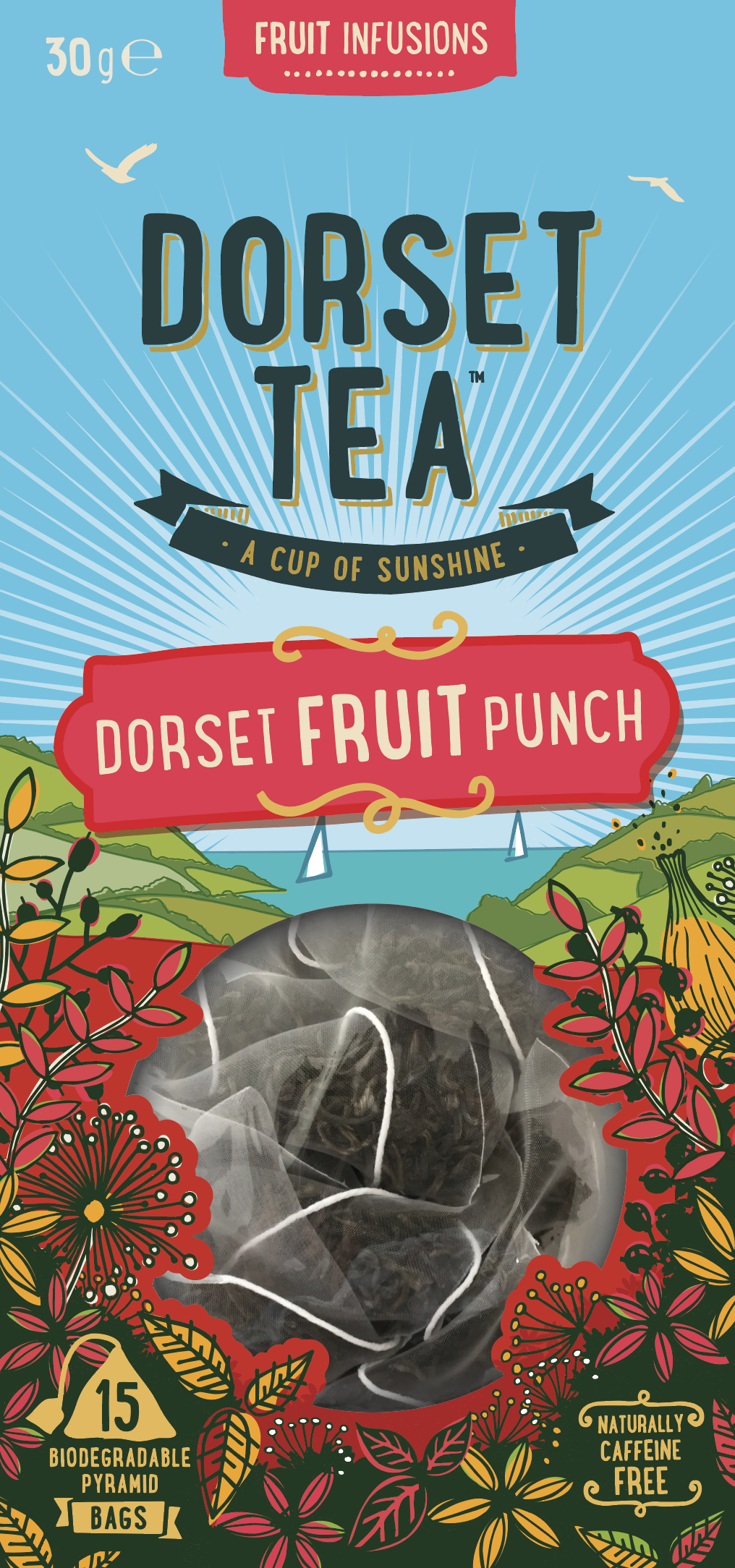Dorset Fruit Punch 15 Pyramid Bags
