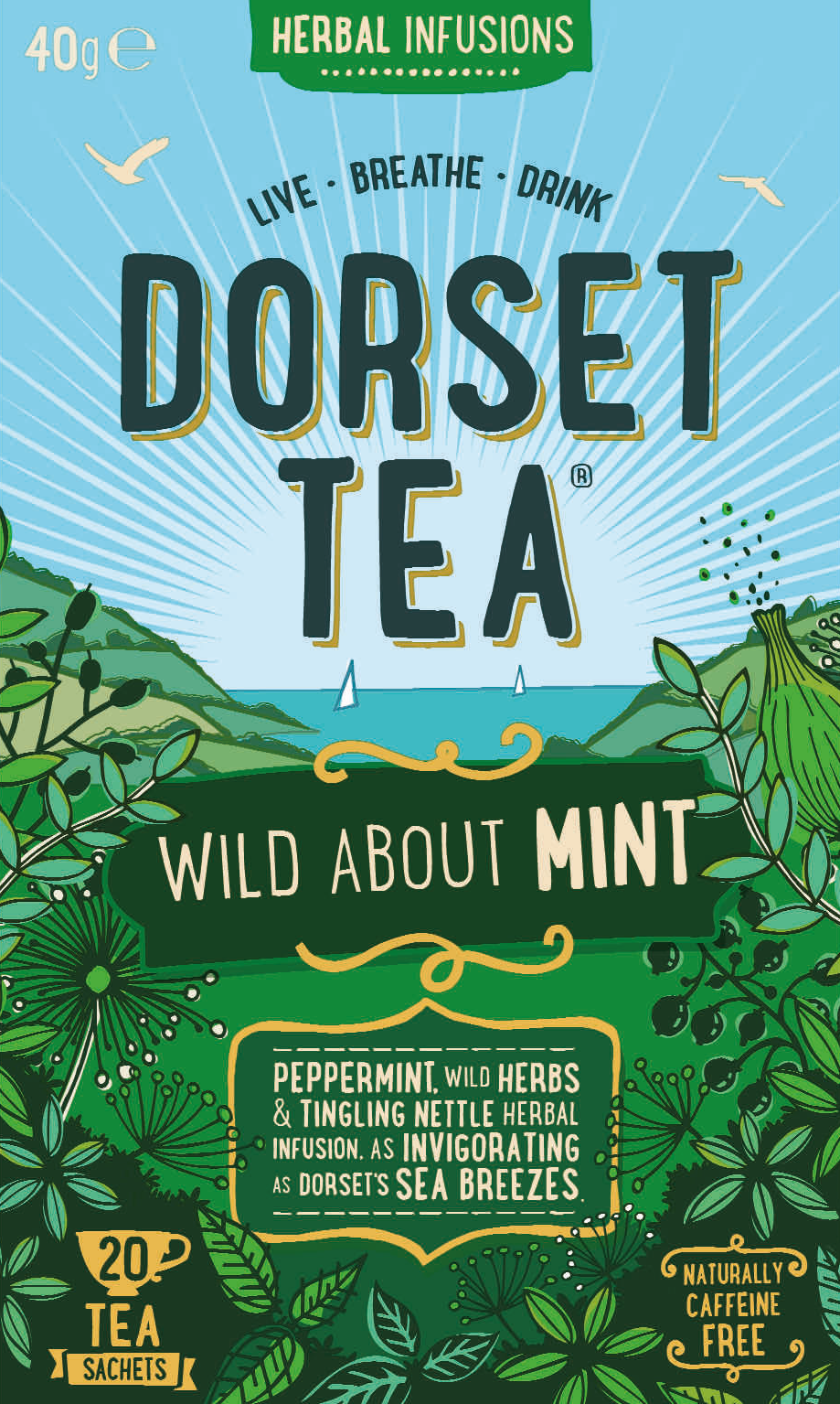 Wild about Mint 20 Tea Bags