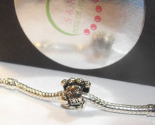 Load image into Gallery viewer, ball glove,  European charms , european charm, European bead, fits snake chain bracelet