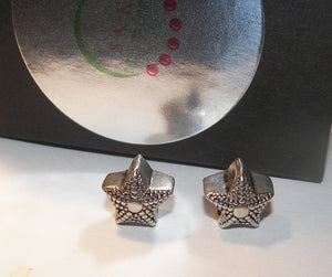 925 sterling silver star fish charm, European charms , european charm, European bead, fits snake chain bracelet