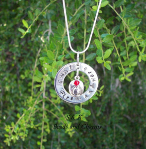 I love my fireman hero mommy necklace, personalized jewelry for Fire fighters wife , custom hand stamped jewelry handstamped jewelry