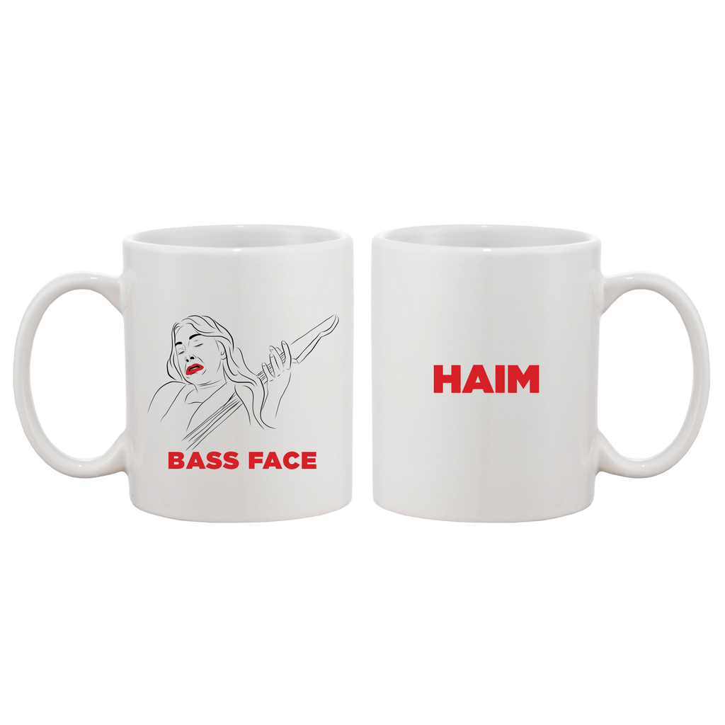 Bass Face Coffee Mug + Album