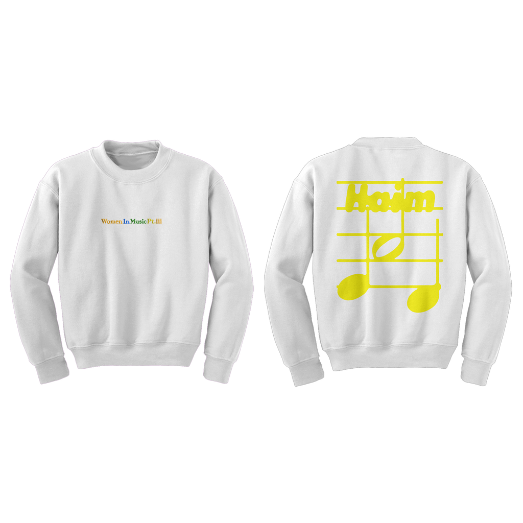 Women In Music Pt. III Crewneck + Album