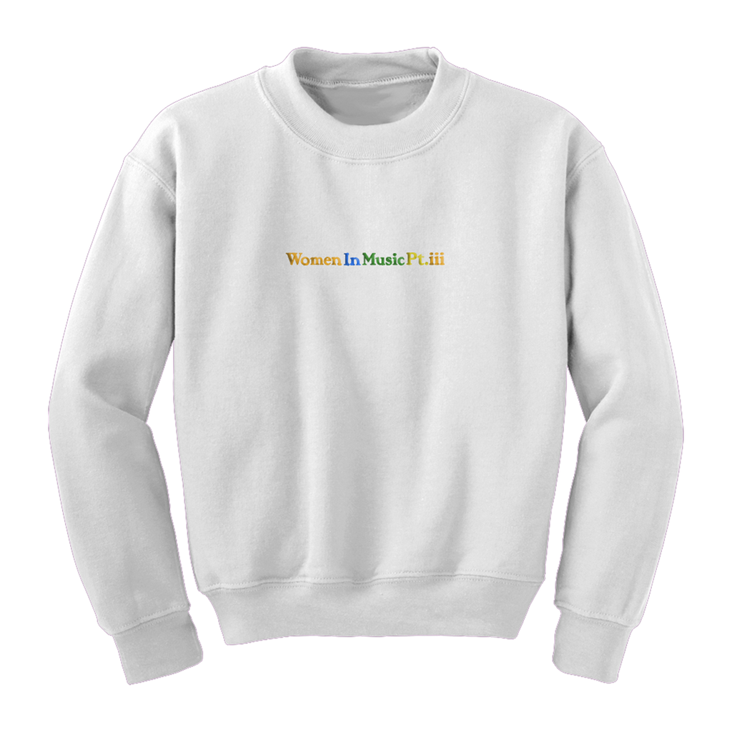 Women In Music Pt. III Crewneck Sweatshirt-Haim