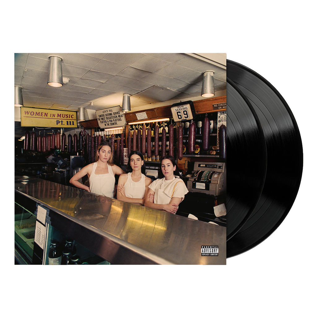 Women in Music Pt. III Standard Black Vinyl-Haim