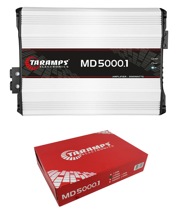 Taramps MD5000-2 Full Range Mono 2 Ohm 5000W Car Audio Amplifier Class D