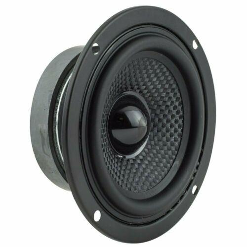 "Pair of DS18 Elite Z-354 3.5"" 100 Watt 4 Ohm Full Range Coaxial Speaker"