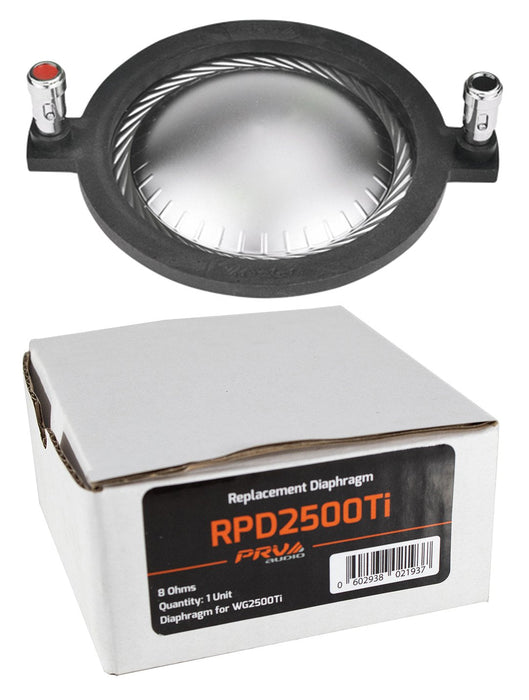 PRV Audio RPD2500Ti Replacement Diaphragm WG2500Ti Compression Driver