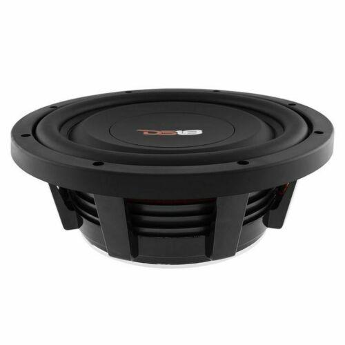 "10"" Shallow Mount Subwoofer 1000W 4 Ohm Pro Audio Bass Speaker DS18"